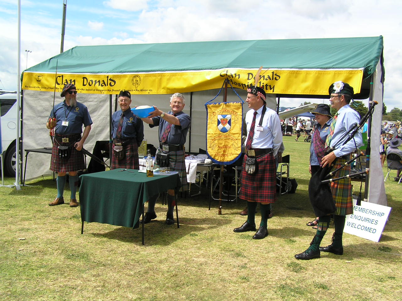 Clan Donald New Zealand: 2017 Highland Games at Paeroa