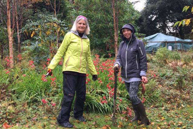 Rosemarie (left) and Karen