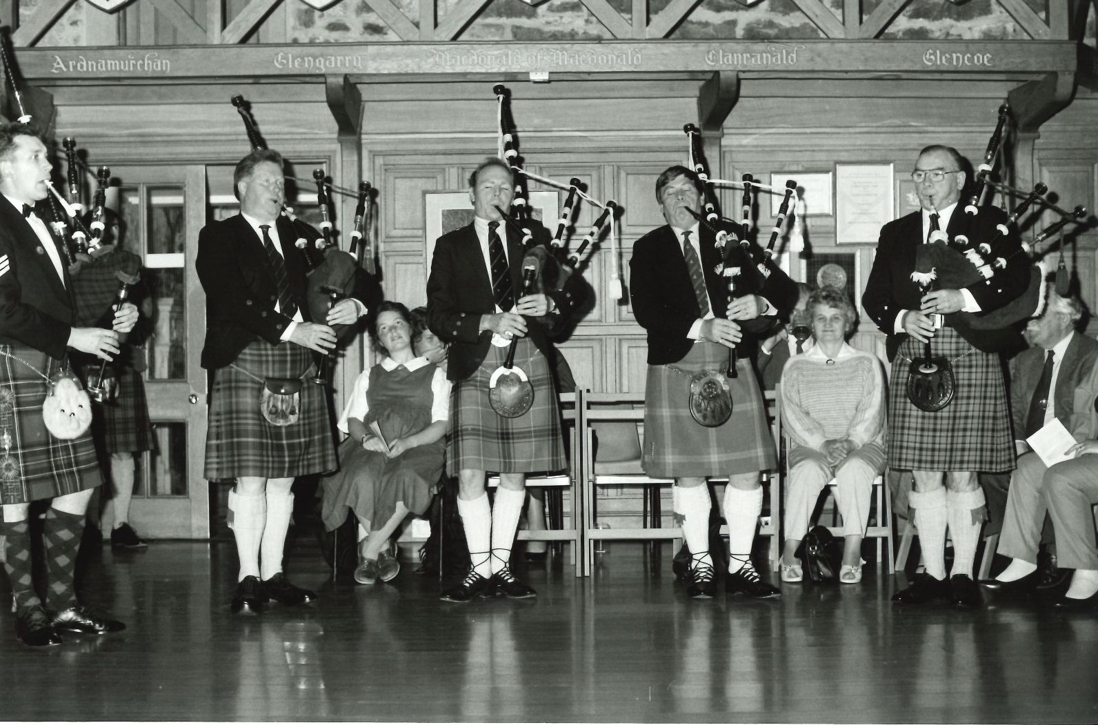 The first Donald MacDonald Piobaireachd Competition