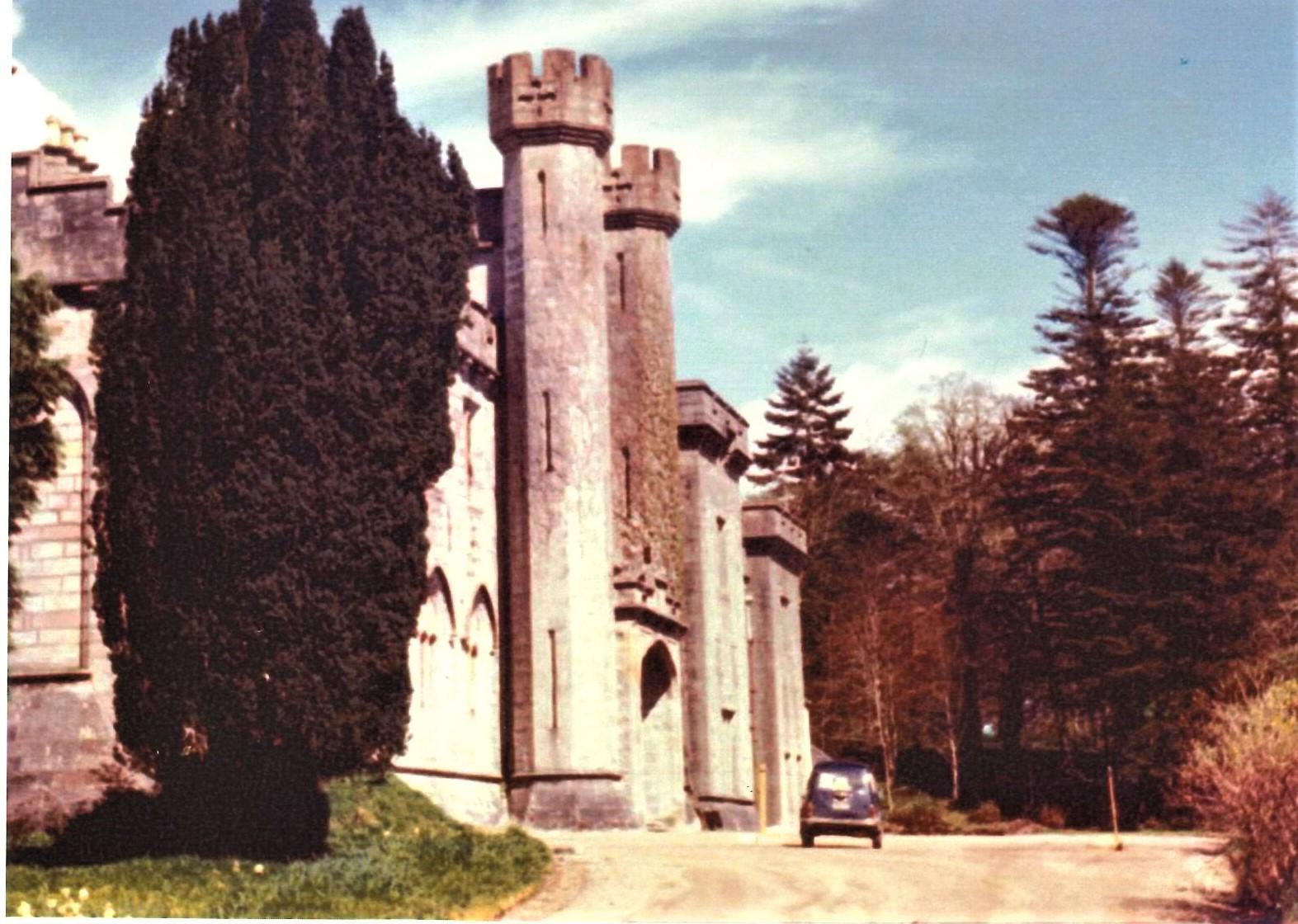 Armadale Castle was in a poor state of repair in 1971